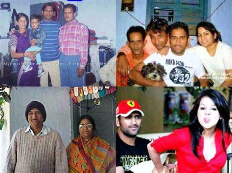 mahendra singh dhoni family childhood sakshi dhoni with daughter