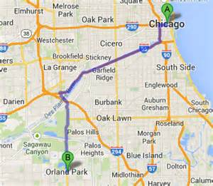 Google Maps Chicago Il by Town Car And Limousine Services From Chicago To Orland