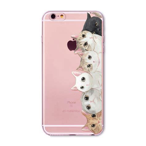 Cat Iphone 6 6s 7 8 X Plus cats phone cases for iphone 6 6s 7 8 7plus 8p 5 5s se