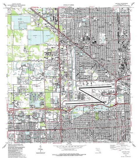 map hialeah florida hialeah topographic map fl usgs topo 25080g3