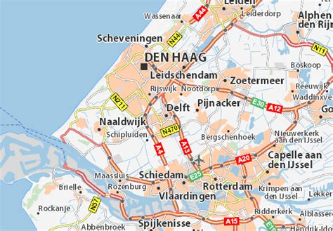netherlands map delft map of delft michelin delft map viamichelin