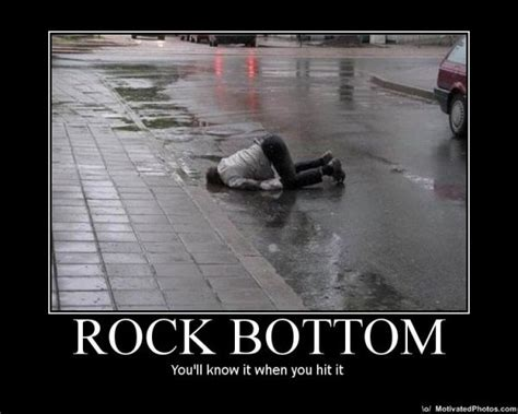 Rock Bottom Meme - how to get off of bottom once and for all altucher