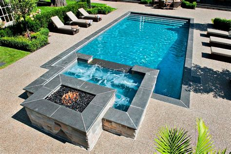 pool fire pit pool fire pit pool and hot tub blog