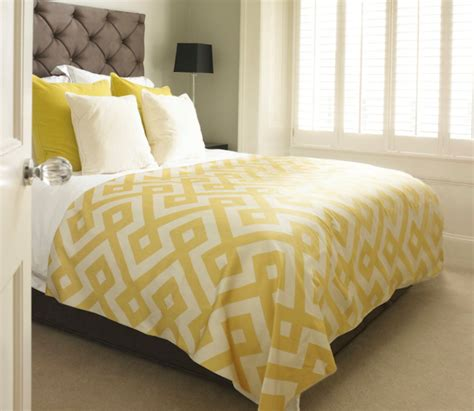 yellow quilts and comforters yellow and grey bedding