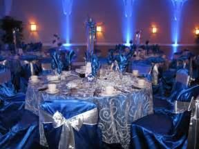 royal blue and ivory wedding decorations royal blue and silver reception decor royal blue ivory