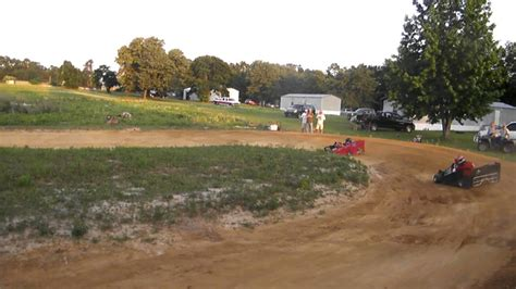 Backyard Cing Backyard High Banked Go Kart Racing