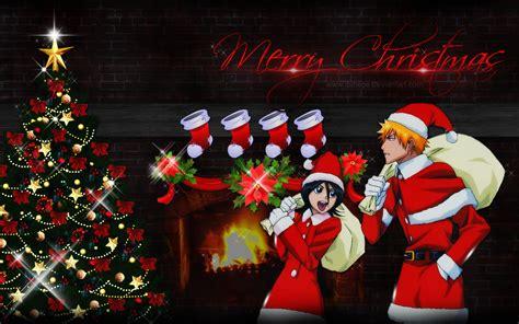 wallpaper christmas deviantart wallpaper merry christmas bleach 1920x1200 by dshepe on