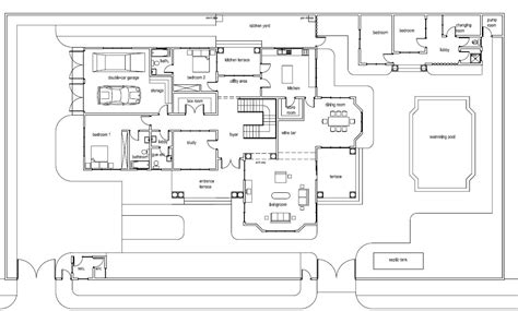 Ghana House Plans Mantse House Plan Floor Plans For House Designs