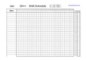free shift schedule template two shift schedule template hashdoc