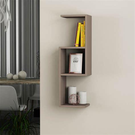 mensole sospese bubu libreria mensole sospese a muro in legno 27 x 90 cm