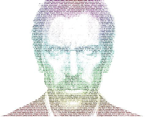 imagenes formadas por letras y simbolos photoshop imagen hecha con texto youtube