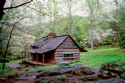 Cabin Of The Smokies by Featured Photo Noah Bud Ogle Cabin William Britten