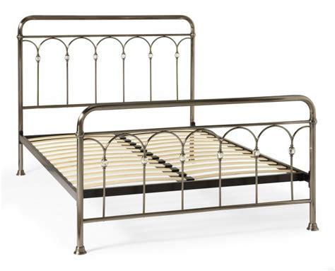 Serene Shilton 6ft Super King Size Antique Nickel Metal 6ft Bed Frames