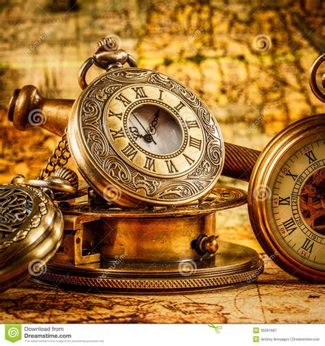 old vintage images vintage pocket watch royalty free stock photography