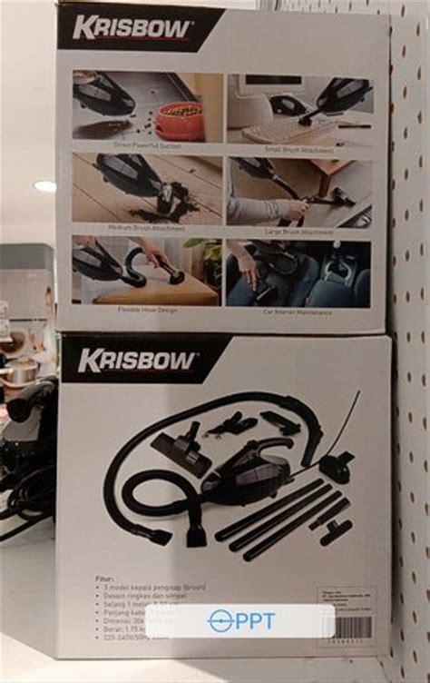 jual krisbow vacum cleaner turbo vakum cleaner penghisap