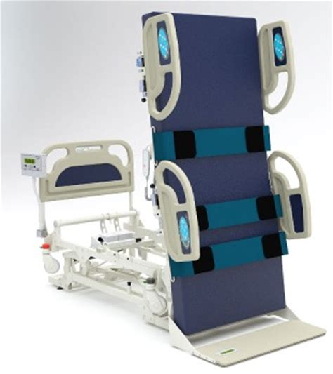 standing bed total lift bed puts patients in a standing position