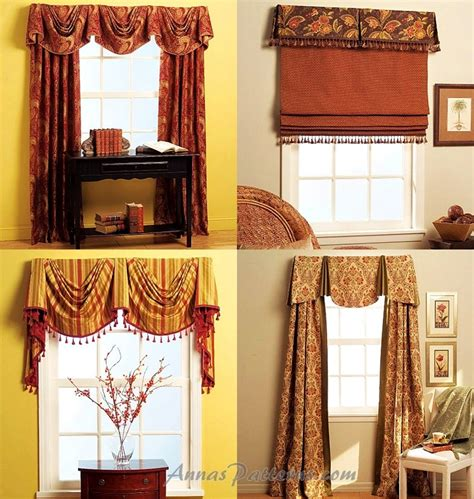 swag valance patterns valance drapes sewing pattern empire swag pull shade