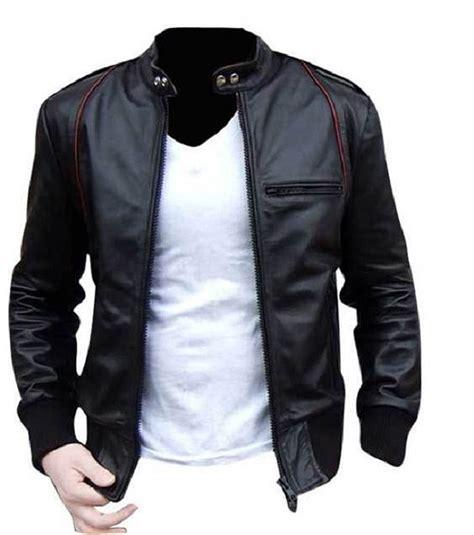 Jaket Blazer Pria Coolmen Black slim simple sturdy well worth the high price tag for this cool and sleek biker jacket