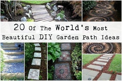 ideas for garden paths 20 of the world s most beautiful diy garden path ideas
