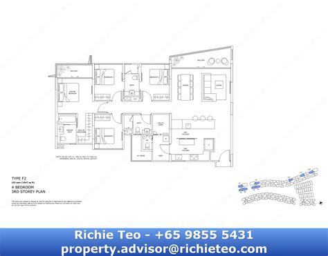 3 Bedroom Floor Plan 4 archipelago