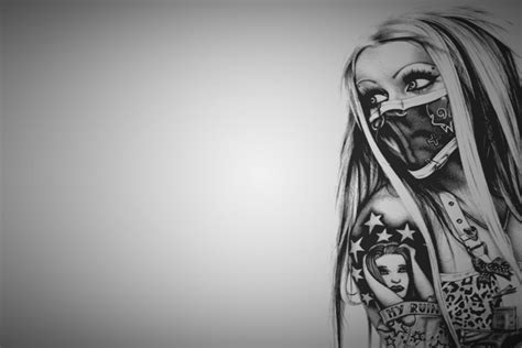 tattoo hd background tattoo girl wallpaper hd wallpapersafari