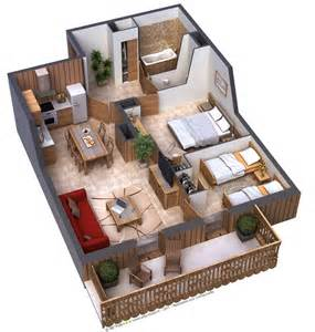 House Plans With Apartment by 25 Two Bedroom House Apartment Floor Plans