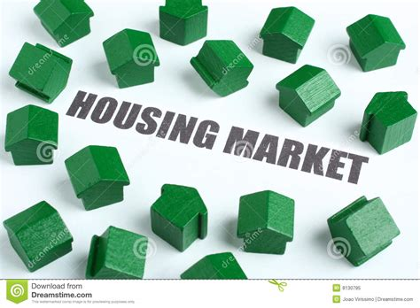 real estate housing market real estate housing market collapse royalty free stock photo image 8130795