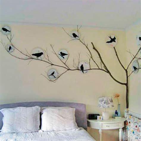 Bedroom Wallpaper Birds Bedroom Decorating Ideas To Tweet About Room Envy