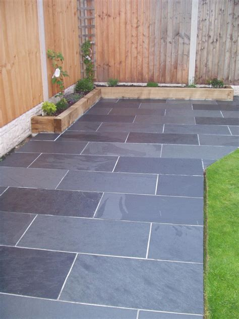 Slate For Patios Slabs by Slate Paving Garden Patio Tiles Not Slabs 163 14 99 M2