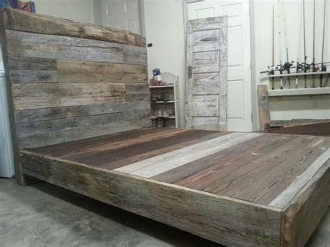 barn wood bed frame 25 best ideas about barn wood headboard on