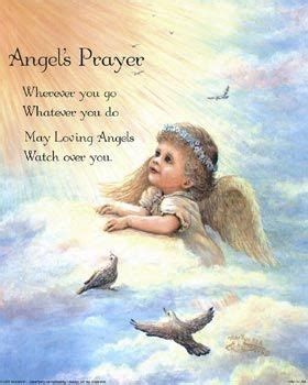 angel prayer quotes quotesgram
