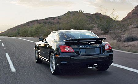 chrysler crossfire srt 6   road test   reviews   car and