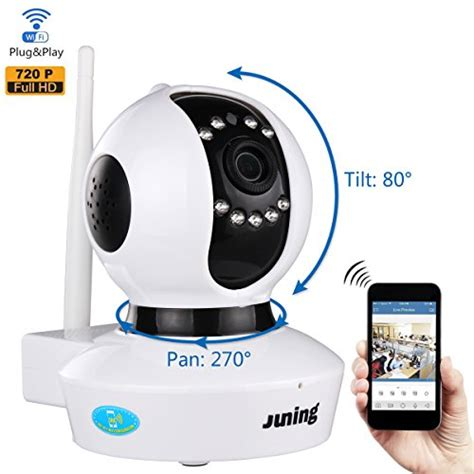 ip home wifi wireless security cameras 720p hd pan