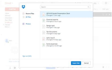 dropbox zipped files dropbox for gmail chrome extension now lets you send