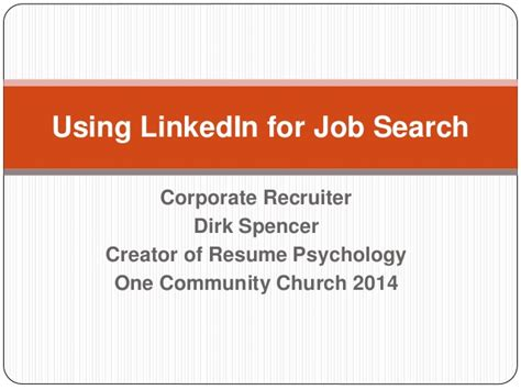 Linkedin Search For Using Linkedin For Search