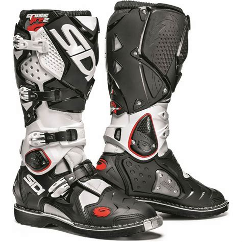 dirt bike motorcycle boots sidi crossfire 2 mx enduro off road steel toe srs