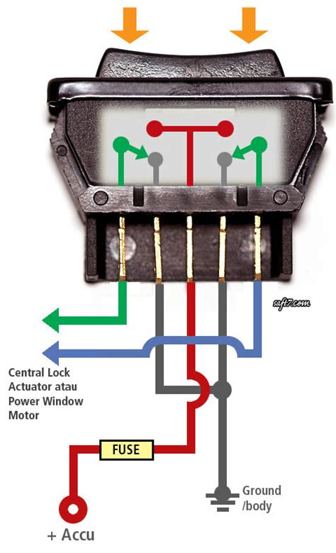 how power window switch works power window switch
