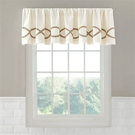 linden curtains buy linden valance from bed bath beyond