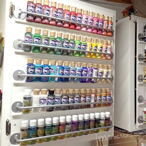 acrylic paint keeper craftaholics anonymous 174 craft paint storage ideas