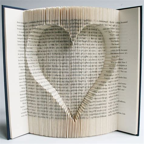 pattern html book book folding pattern with cuts inverted heart free
