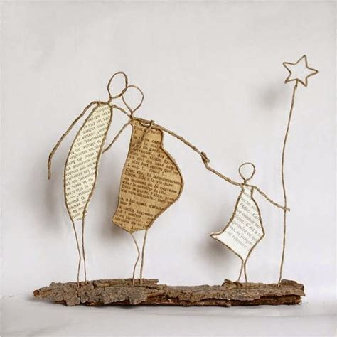 How To Make Paper Sculptures At Home - 25 best ideas about wire crafts on jewelry