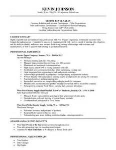 sle of a resume summary outside sales resume nj sales sales lewesmr