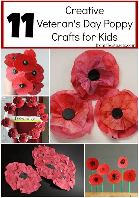 remembrance day crafts for best 25 veterans day ideas on