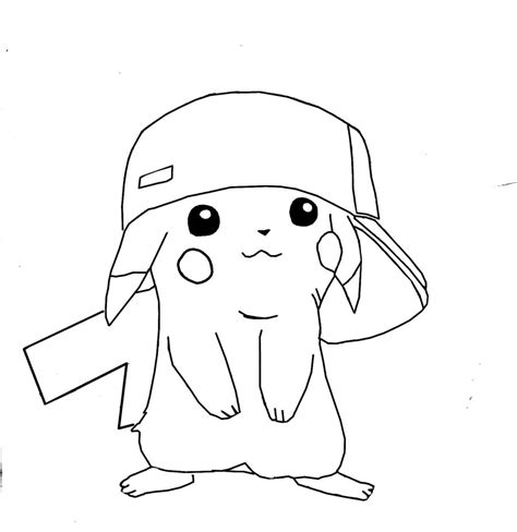 coloring pages of pokemon pikachu free printable pikachu coloring pages for kids
