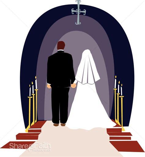 Wedding Ceremony Clipart by Religious Wedding Ceremony Christian Wedding Clipart