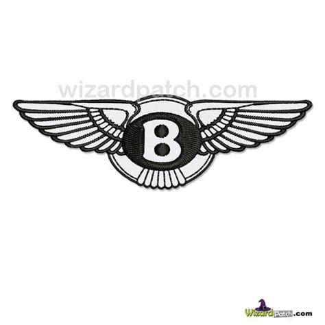 bentley logo black and white the gallery for gt vip bags logo png