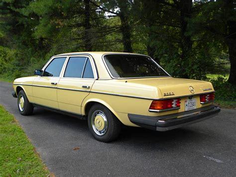 1985 mercedes 300d left rear quarter view classic cars