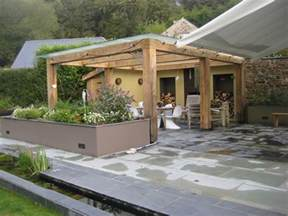 Glass Pergolas by Wooden Pergola With Glass Roof Images