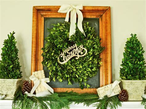 decorating ideas for wire wreaths frames how to make boxwood topiaries hgtv