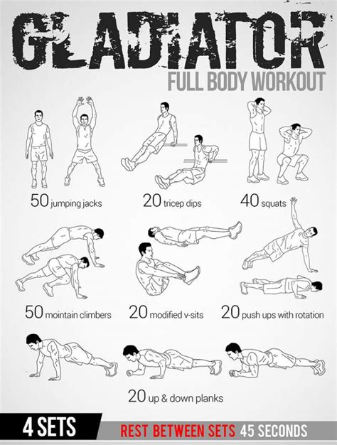 workout plans for men at home 25 best ideas about full body workout plan on pinterest